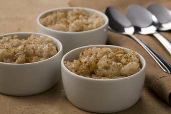 Cinnamon Raisin Rice Pudding Using Panasonic Inverter Microwave Developed By The Culinary Insute Of America For