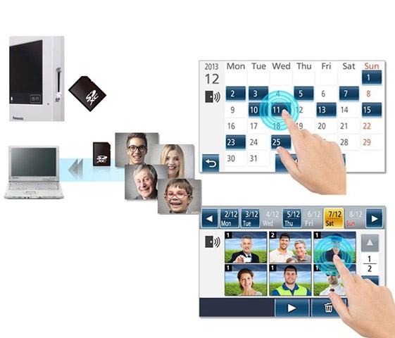 SD Card Recording & Calendar Lookup
