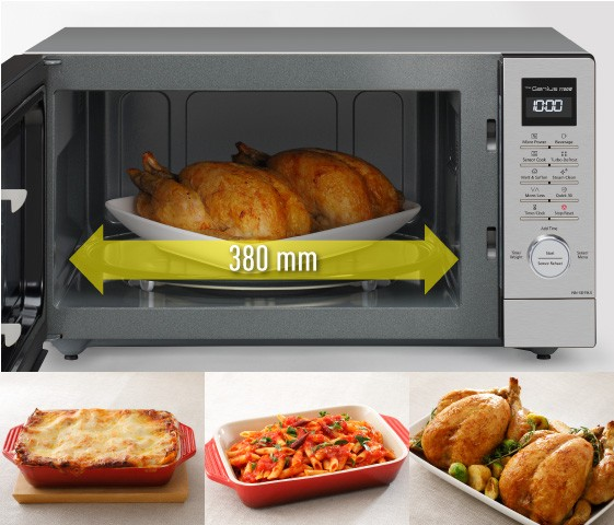Wide and Large Cooking Capacity