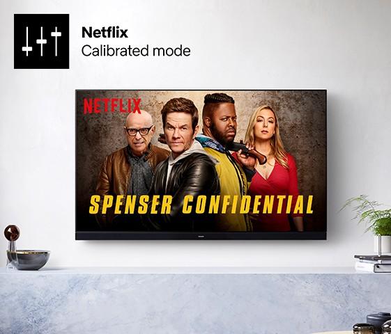 Mode calibré Netflix