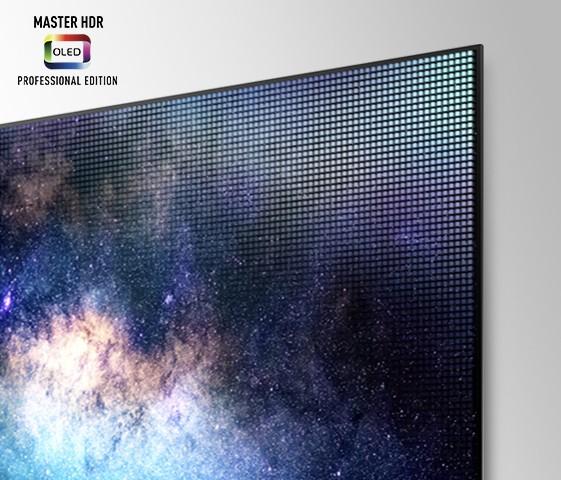 Téléviseur OLED Master HDR Édition Professionnelle