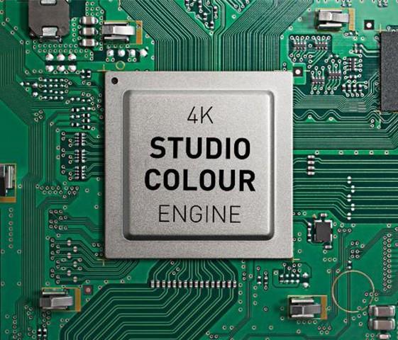 Des performances de haute volée grâuce au processeur 4K Studio Colour