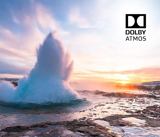 Un son riche et profond grâce à Dolby Atmos