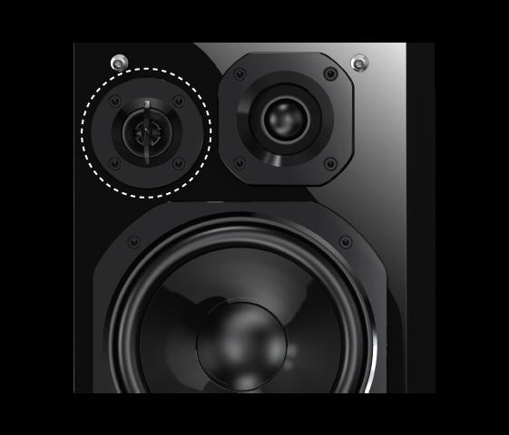 Haut-parleur des ultra aigus de haute performance