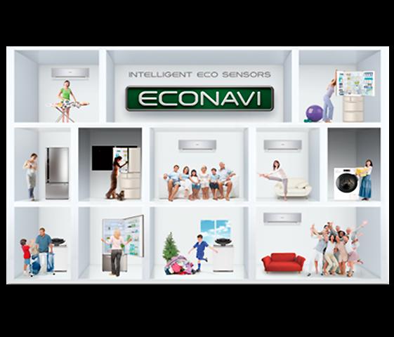 Tecnología Exclusiva ECONAVI