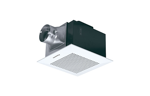 Exterior image of Ceiling-mounted ventilation fan