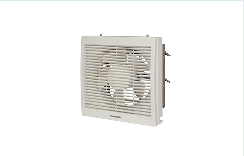An exterior image of Wall-mounted ventilating fan