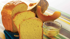 Pumpkin Rice Flour Bread