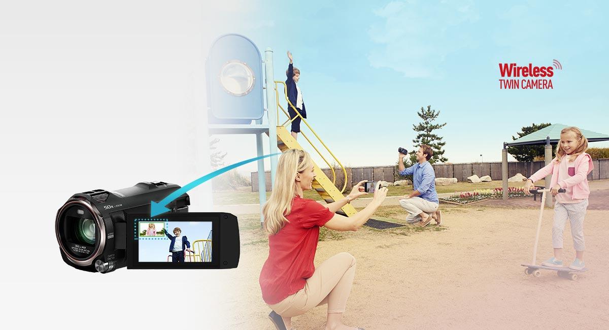 Bezdrátový párový fotoaparát