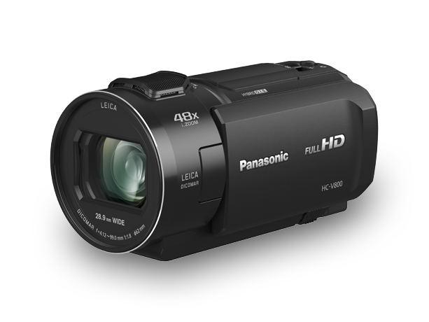 Photo of Full-HD Premium Handheld Camcorder -  HC-V800