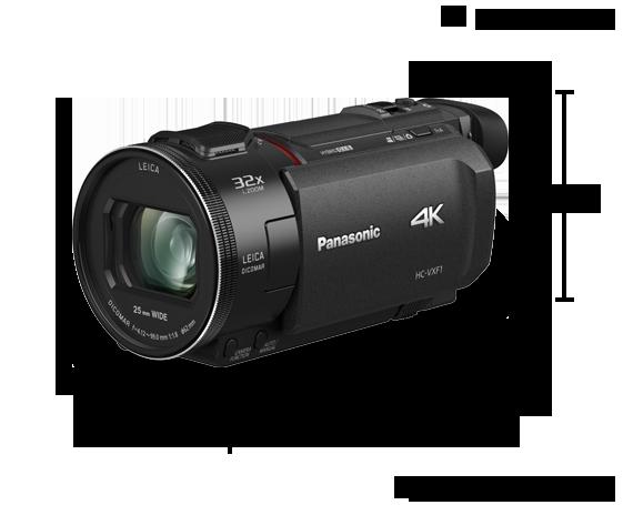 4K Ultra HD Camcorder HC-VXF1