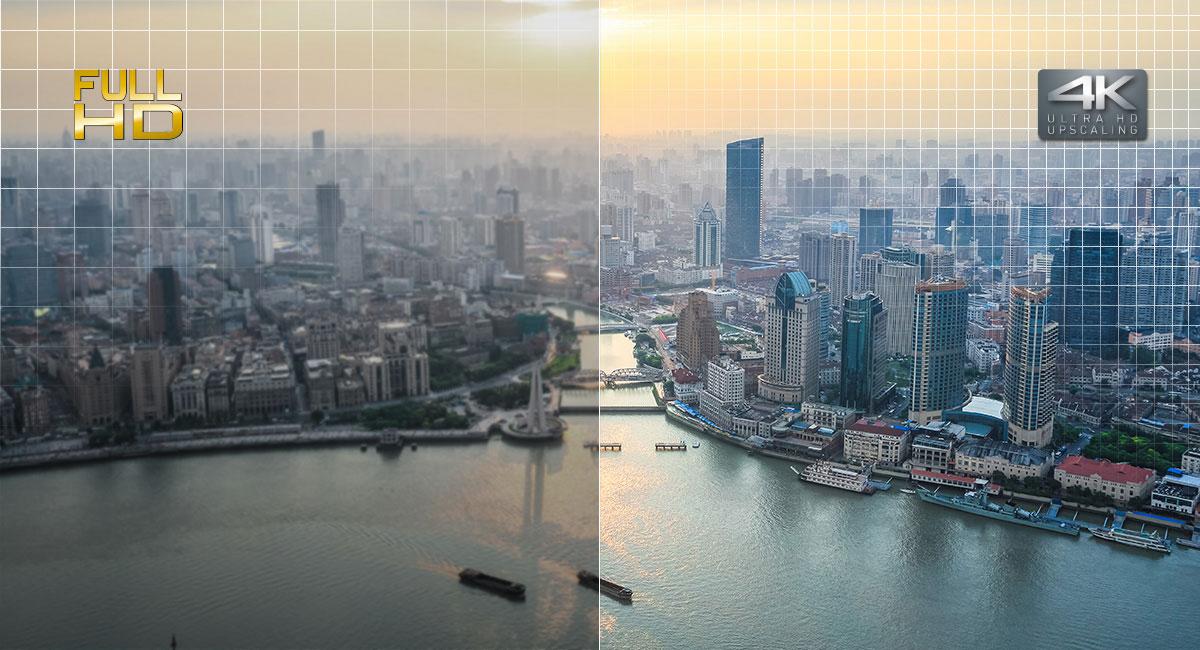 Erleben Sie atemberaubende 4K-Bilder