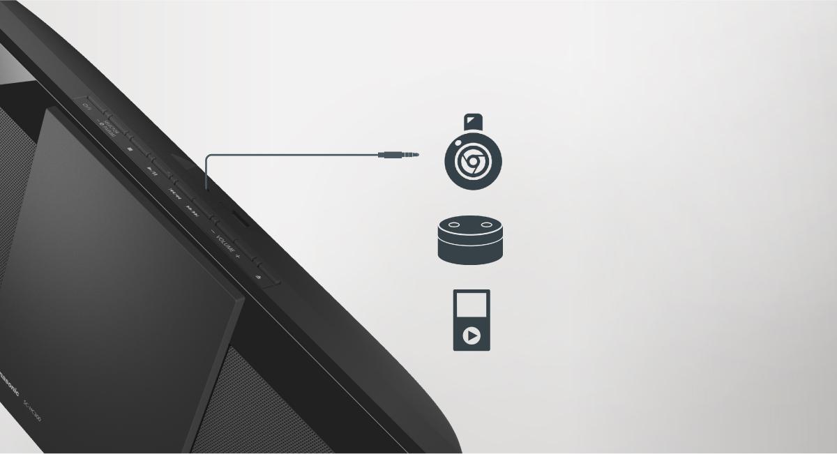 AUX-IN Auto Play pro audio a streamovací zařízení
