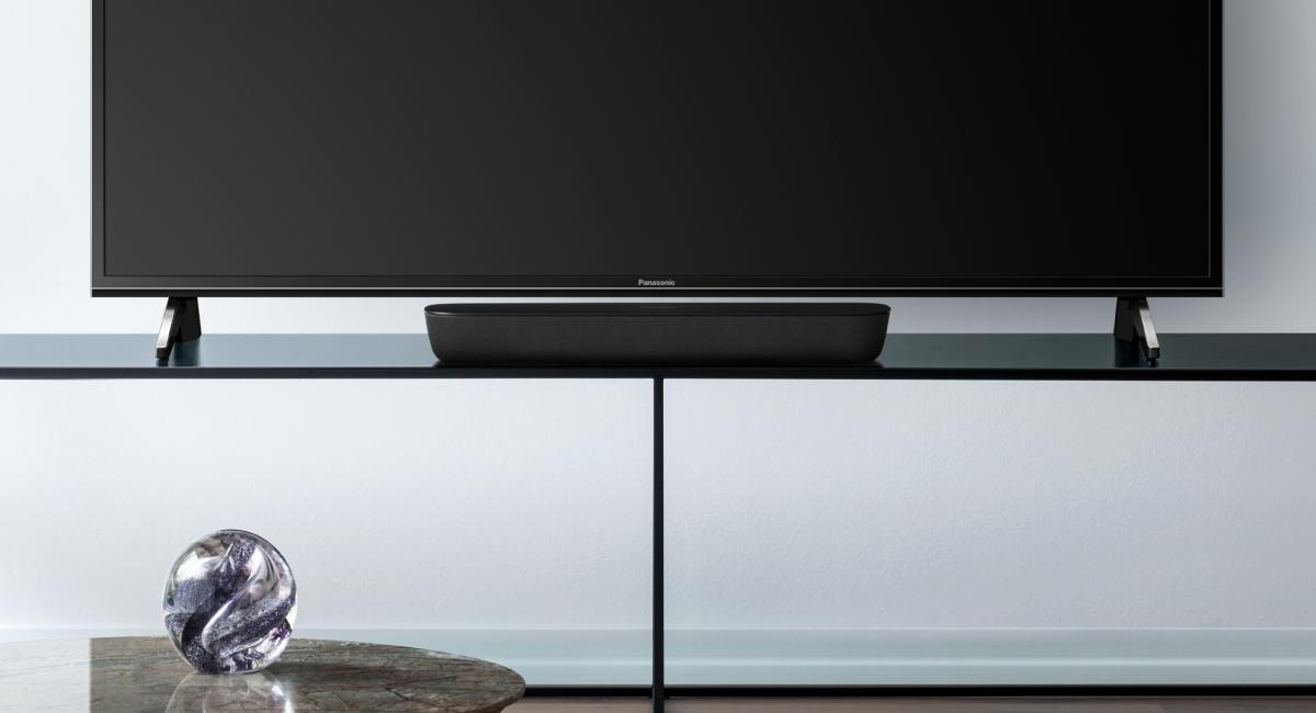 Kompaktní velikost ideální pro televizory Panasonic