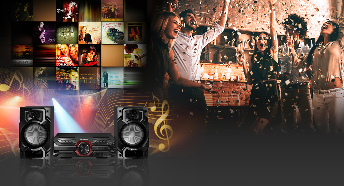 Play Music and Liven Up the Party