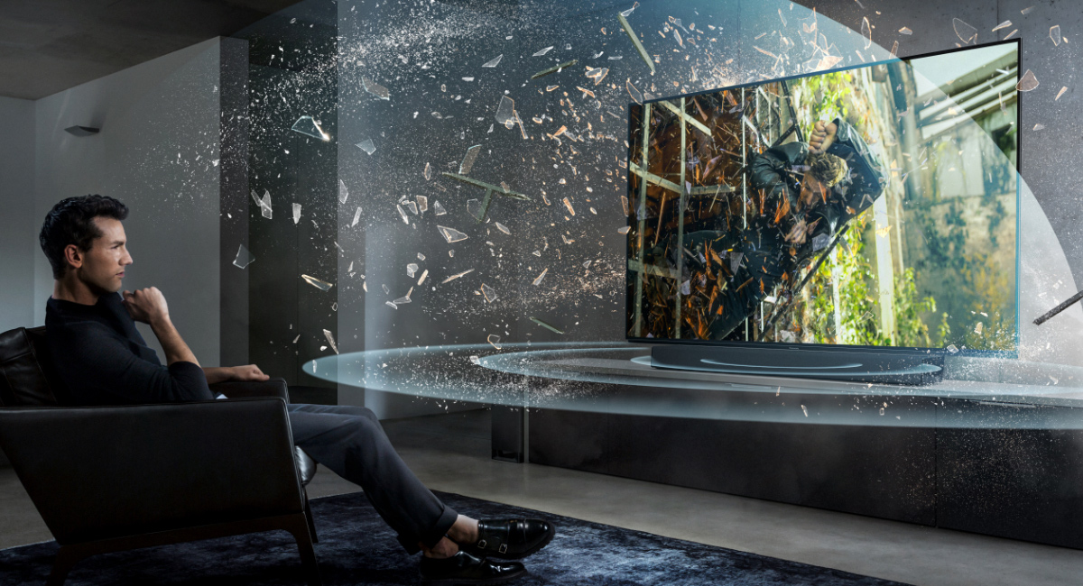 An Immersive Cinematic Experience with Dolby Atmos® / DTS:X™