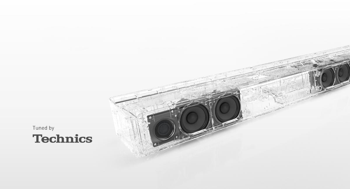 Prvotřídní kvalita zvuku jako dědictví společnosti Technics