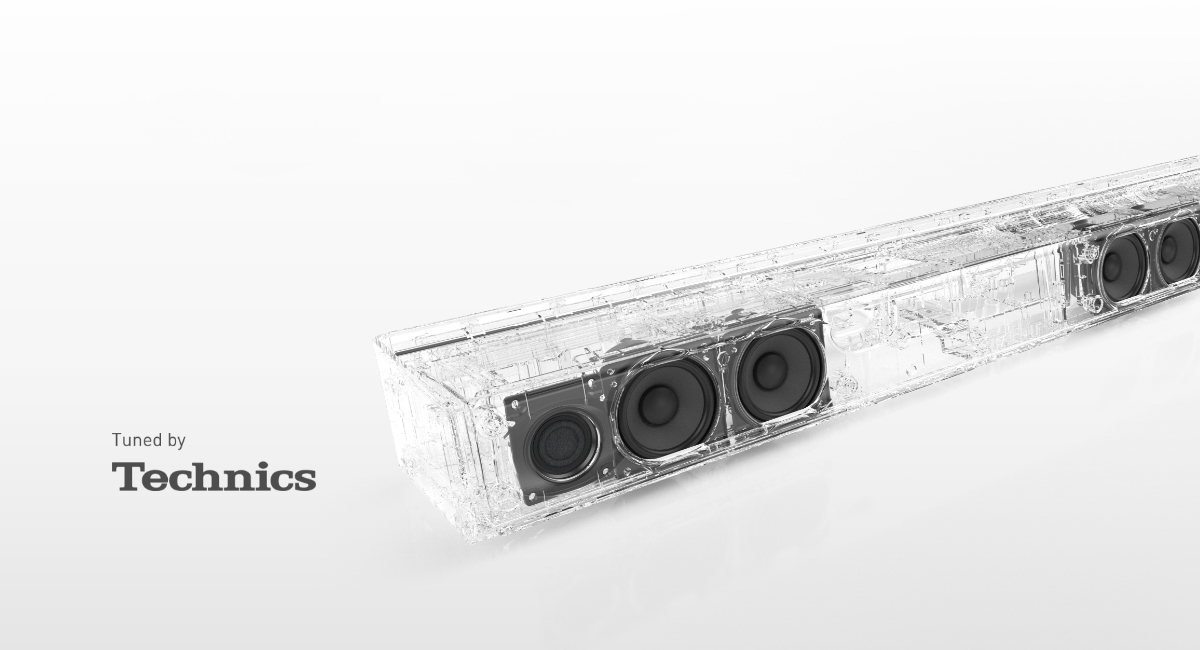 Premium-quality Sound InheritedFrom Technics