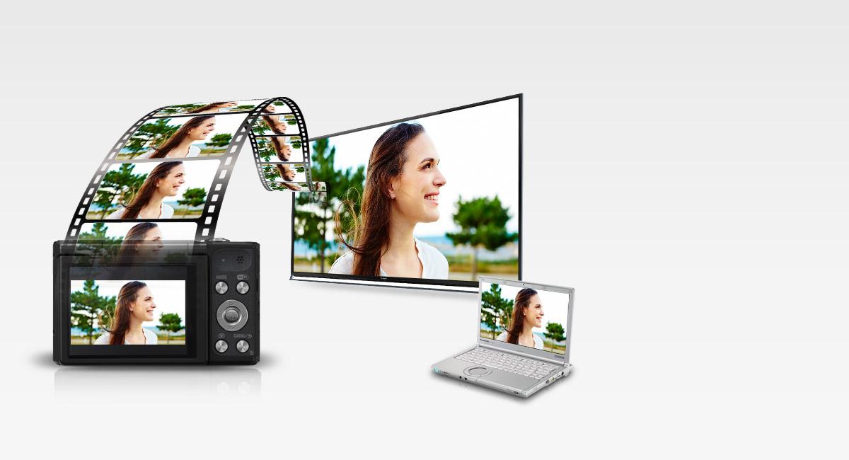 Videorögzítés 720p HD minőségben