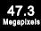 47,3 Megapixel