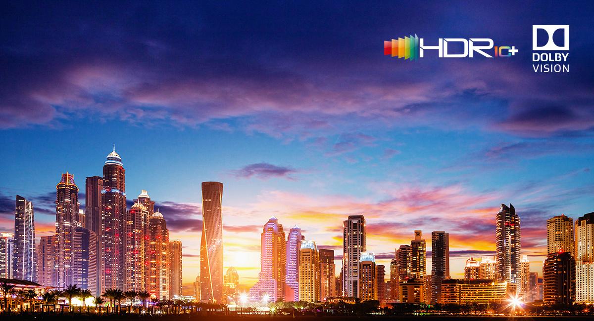 HDR10+ és Dolby Vison-kompatibilitás