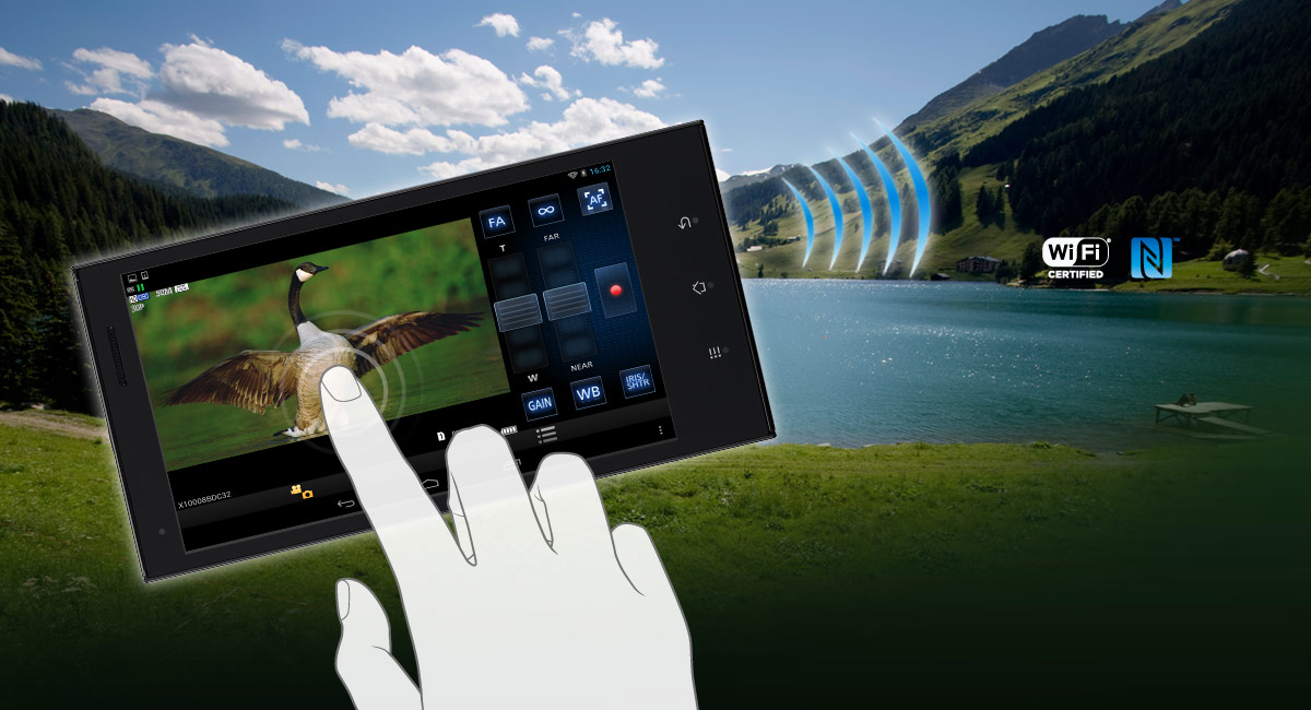Wi-Fi funkciók és NFC