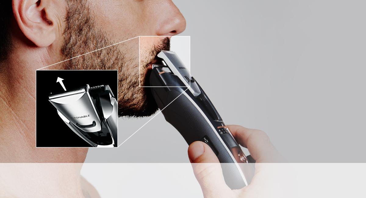 Precíziós vágószerkezet kiemelő hajvágáshoz