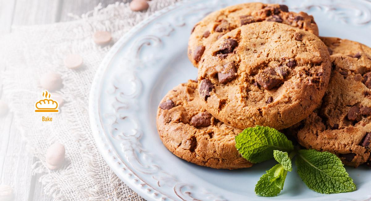 Dễ dàng nướng món bánh quy giòn