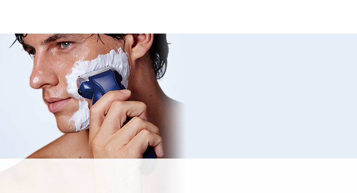 Nedves / száraz, habos borotválás