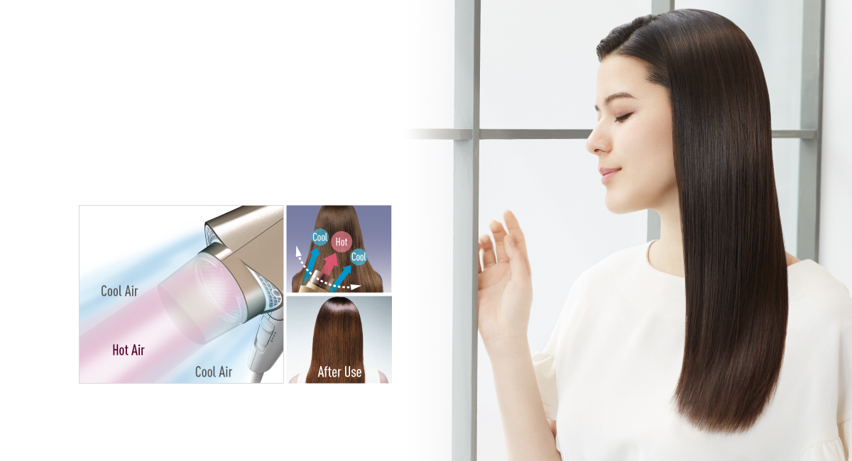 The Shine Boost Design leaves your hair shiner