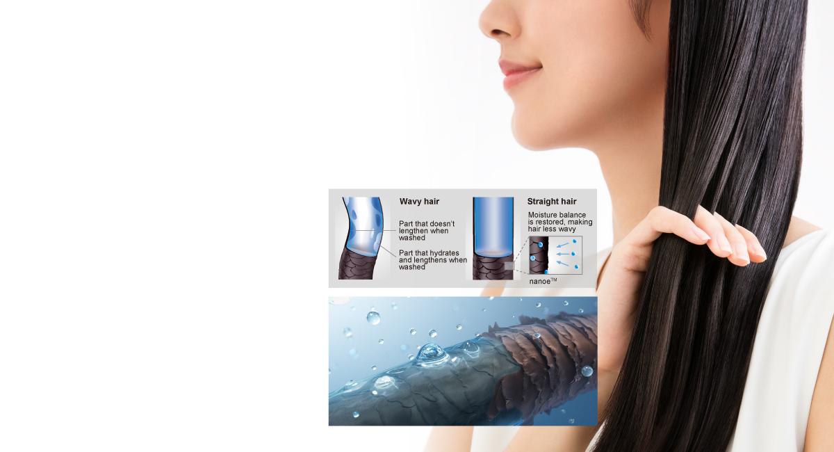 nanoe™ for beautiful hair and healthy scalp