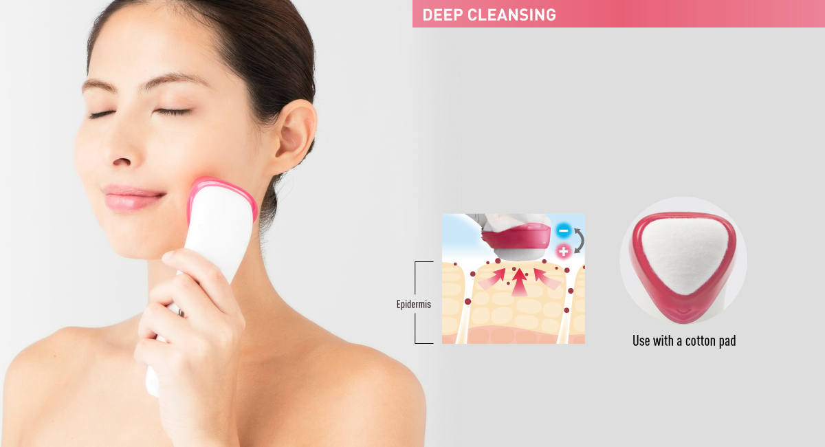Absorbs impurities that cannot be completely removed by normal facial cleansing