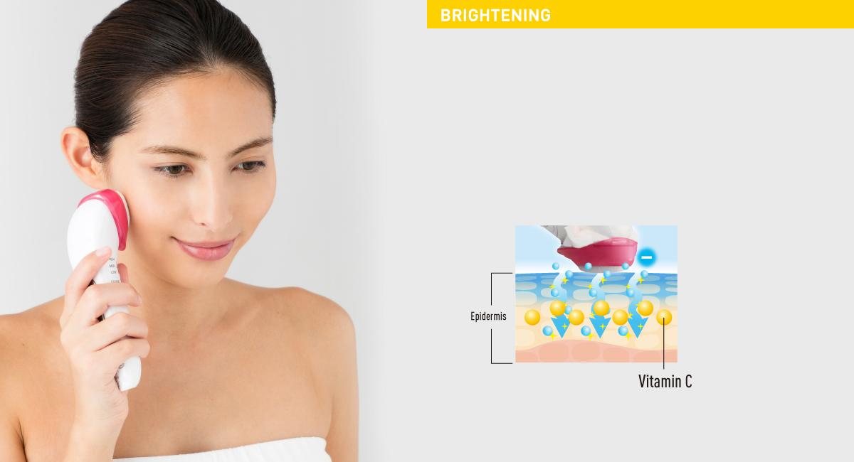 Vitamin C delivered deep inside the skin