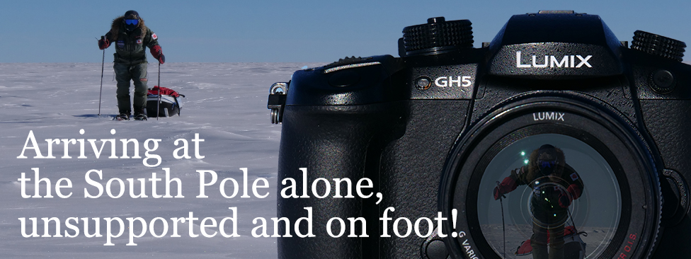 LUMIX GH5 - Go Higher - Yasunaga Ogita's Journey to the South Pole