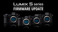 LUMIX S Series Firmware Update