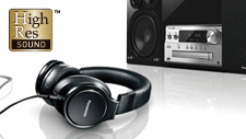Panasonic High-Resolution Audio
