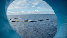 Visualising The Ocean Cleanup initiative