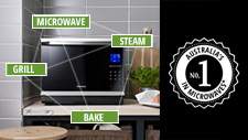 The research* is in: Panasonic Australia's microwaves are #1