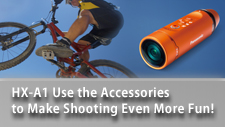 Use the Accessories to Make Shooting Even More Fun!