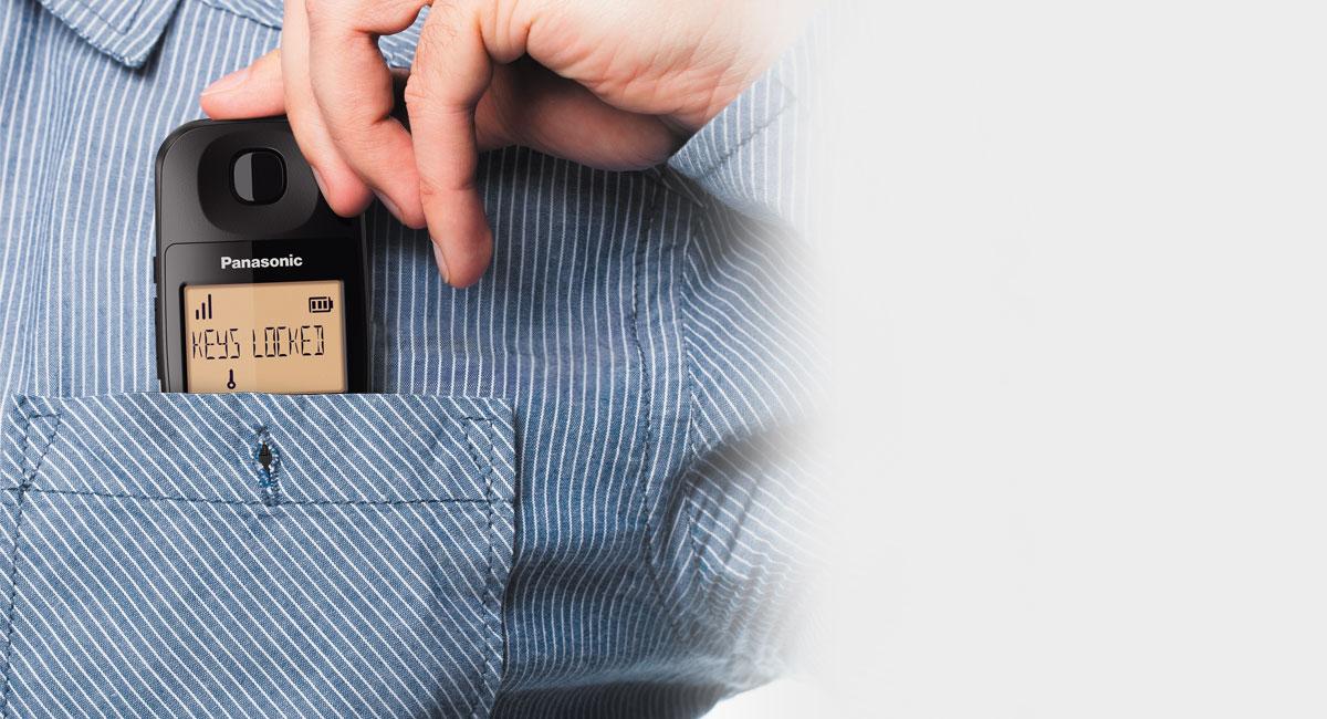 Key Lock on Handset