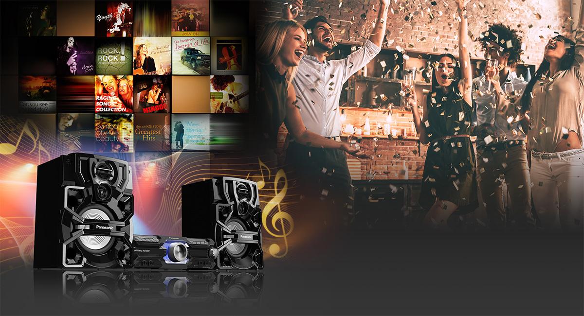 Zenetovábbítás és fesztiválhangulat