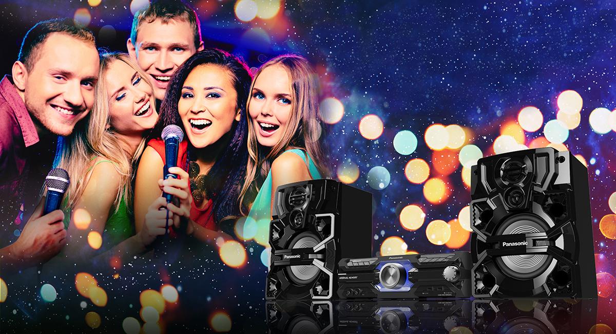 Élvezze a karaoke funkciót családtagjaival, ismerősivel