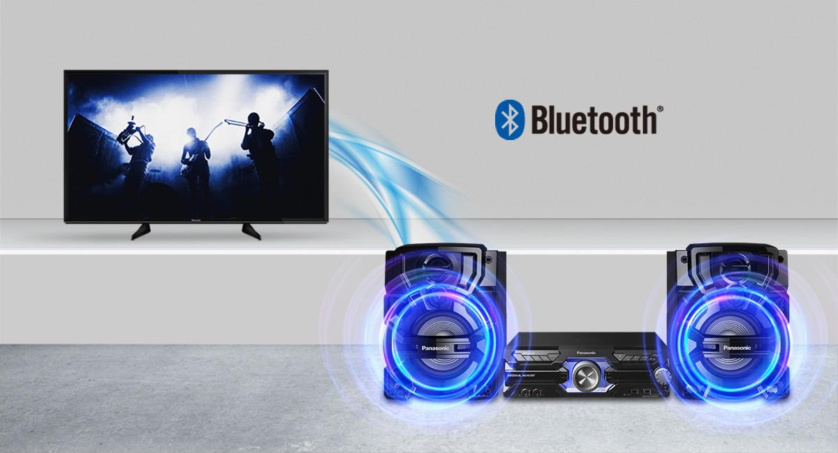 Élvezze a Panasonic TV képeit dinamikus hangzással