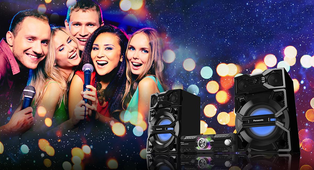 Užijte si karaoke s rodinou a přáteli