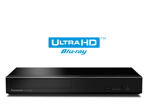 Foto van Ultra HD Blu-ray Player DP-UB450