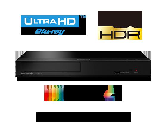 Lecteur Blu-ray Ultra HD DP-UB450