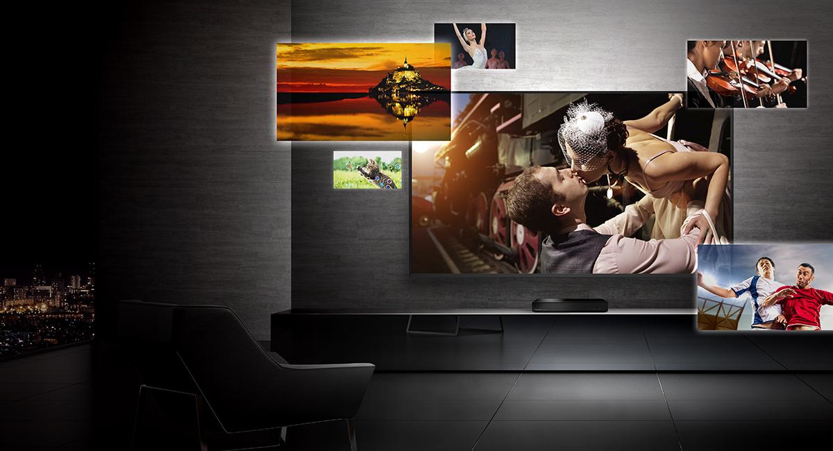 Působivý zážitek v kvalitě Ultra HD