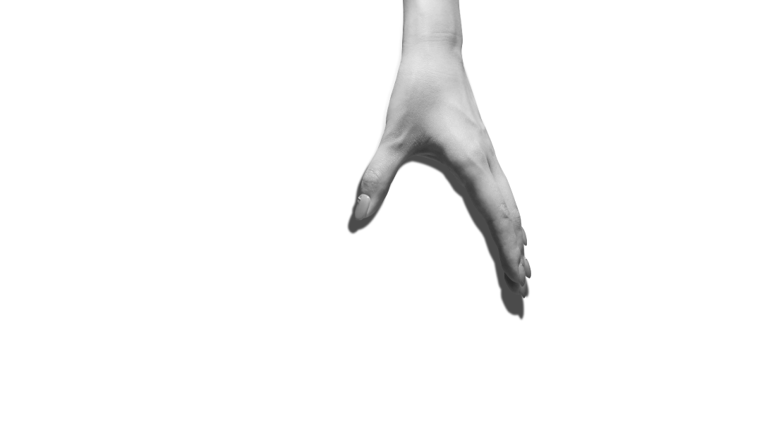 Graphic of hand