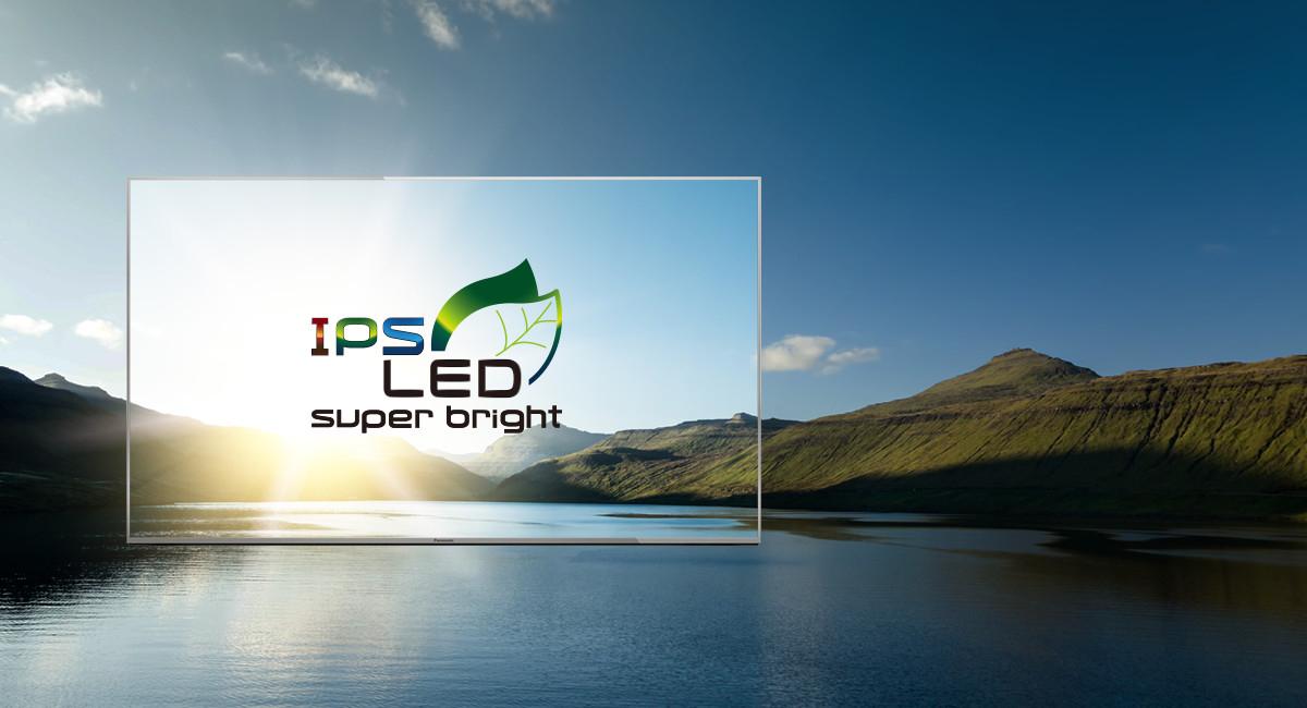 شاشة IPS LED فائقة السطوع