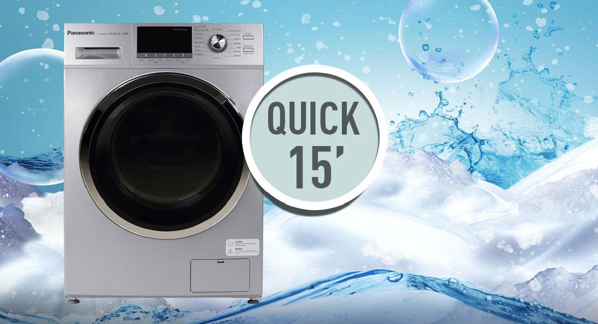 غسل سريع – 15 دقيقة